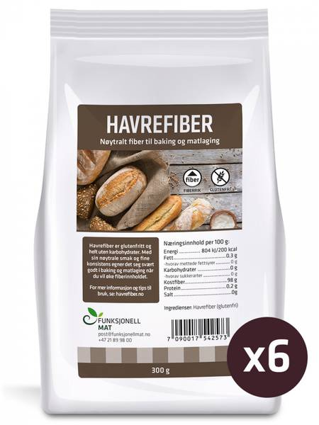 Pakketilbud 6 Havrefiber